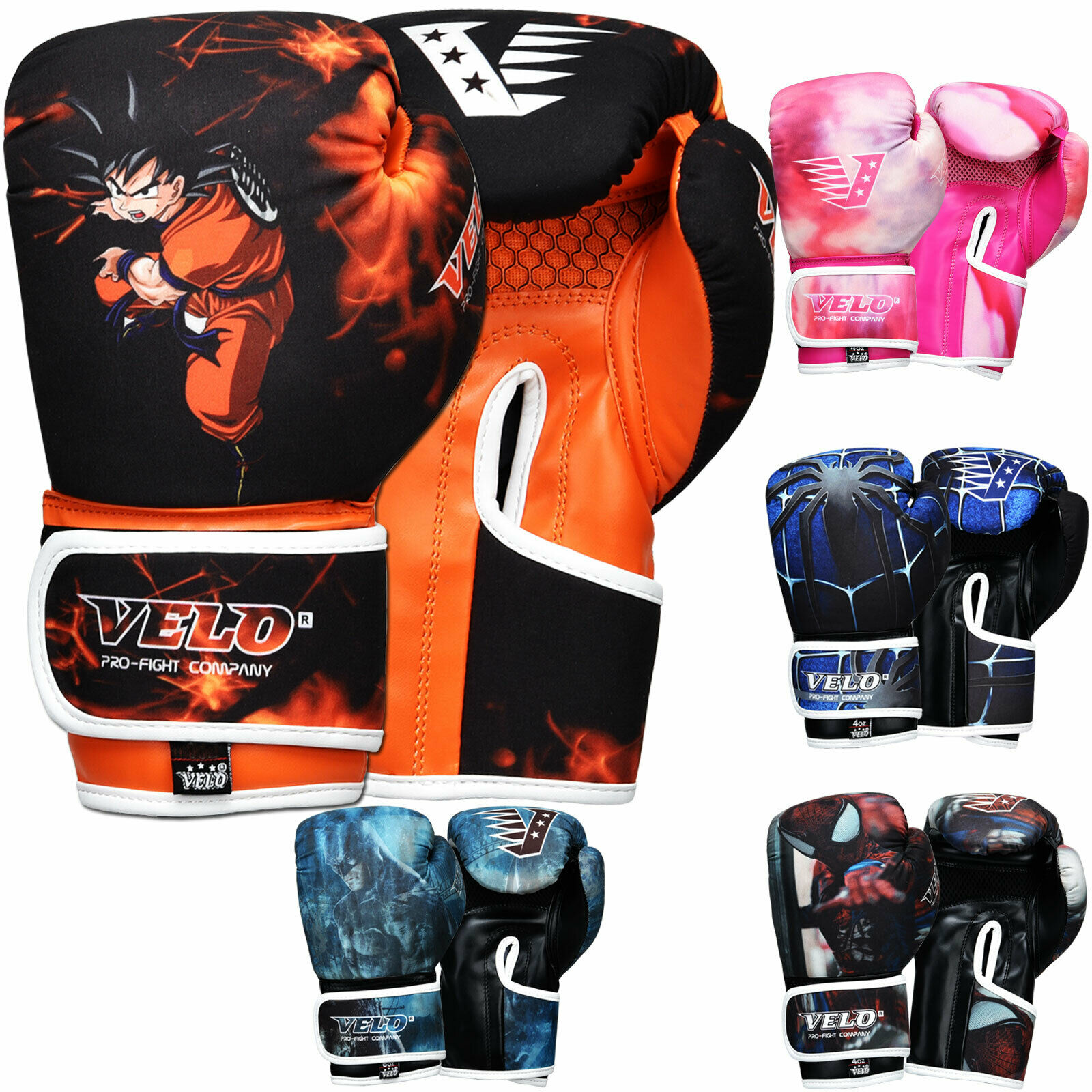 VELO Boxing Gloves Kids Boxing Gloves
